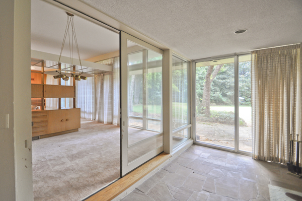 Modern Charlotte - The Blumenthal Estate glass doors