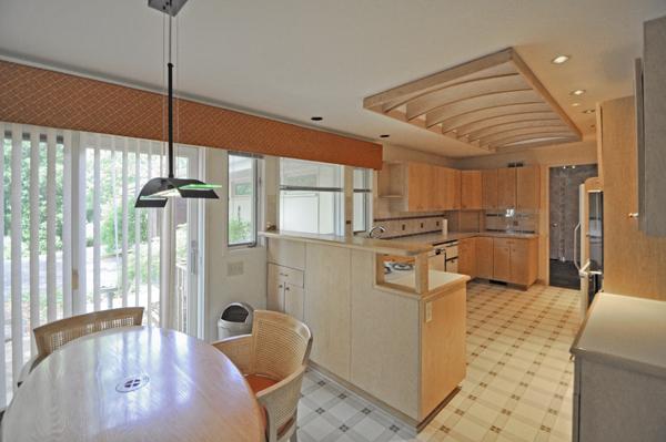 Modern Charlotte - The Blumenthal Estate kitchen
