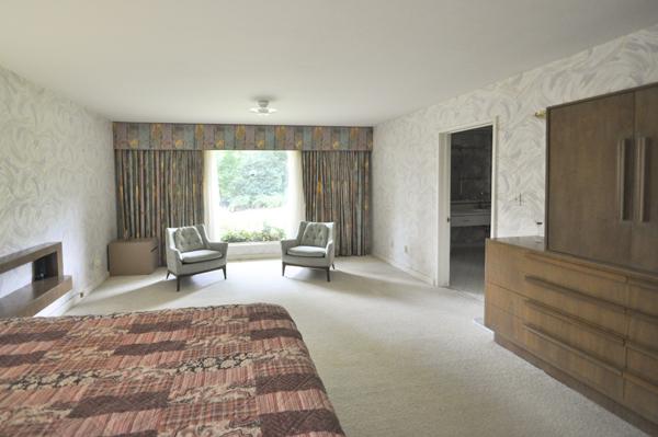 Modern Charlotte - The Blumenthal Estate Master Bedroom