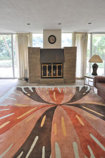 Modern Charlotte - The Blumenthal Estate den