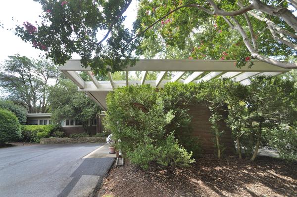 Modern Charlotte - The Blumenthal Estate exterior detail
