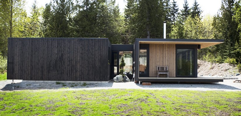 Modern Charlotte - Modern Cabin - Form and Forest