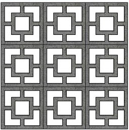 Modern Charlotte - decorative concrete block