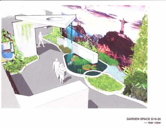 Modern Charlotte - MCM garden