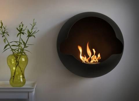 Modern Charlotte - modern fireplace