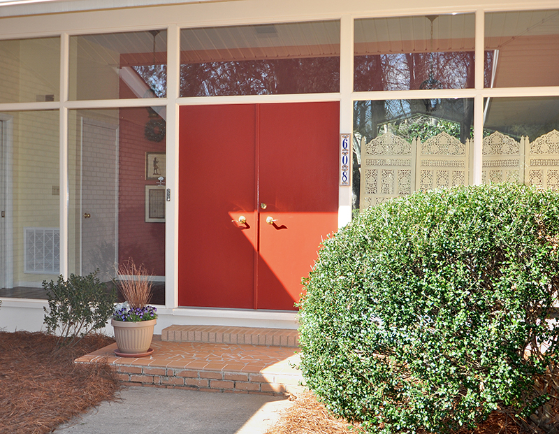1960 S Mid Century Modern Ranch South Charlotte