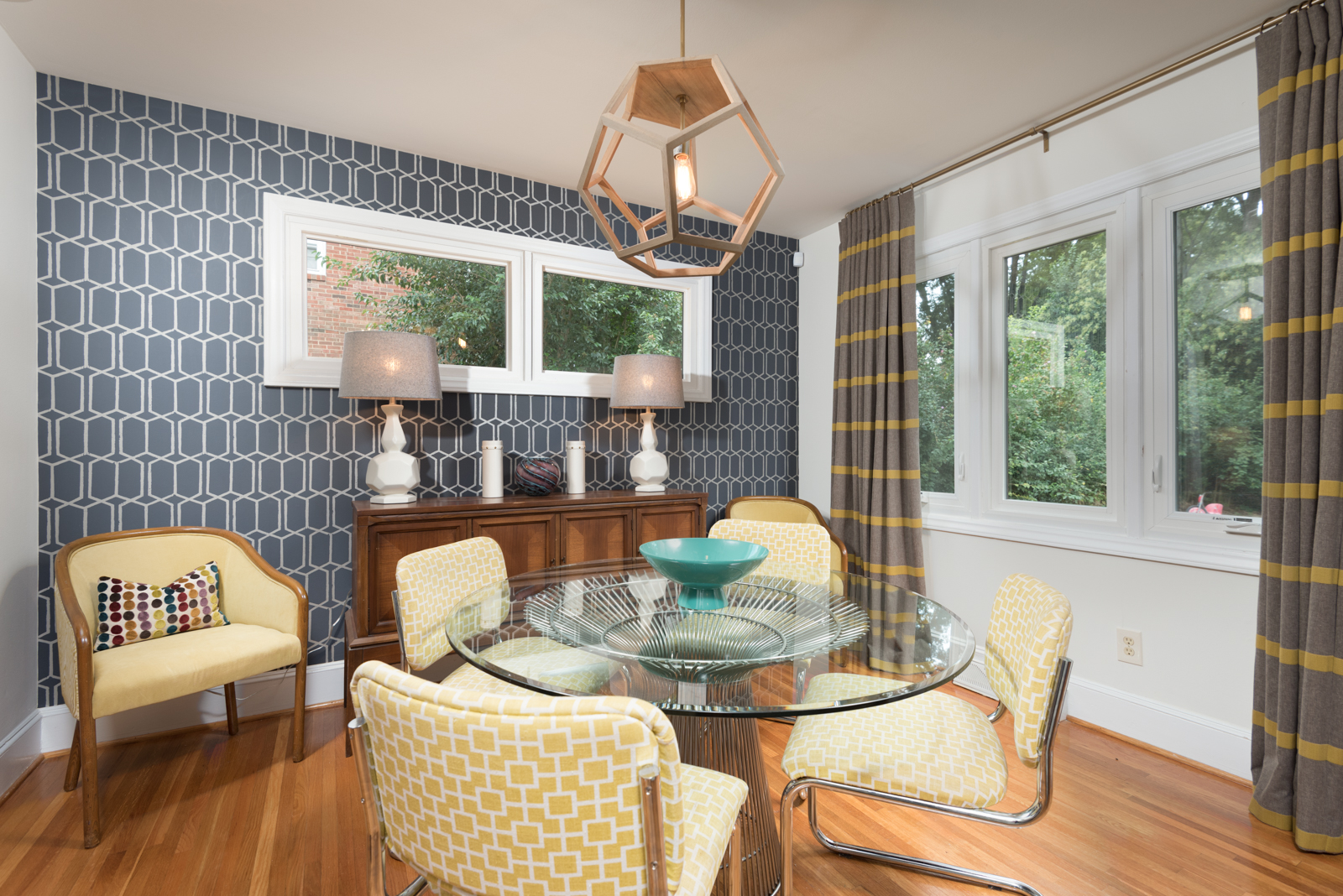 Designer mid century modern home modern charlotte realty - Interior house painting charlotte nc ...